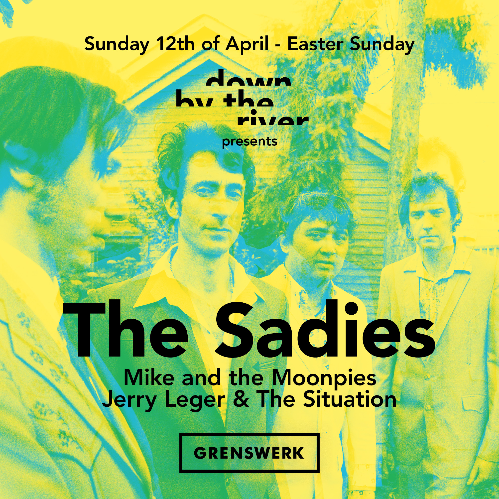 Down By The River presents: The Sadies, Mike & The Moonpies, Jerry Leger & The Situation