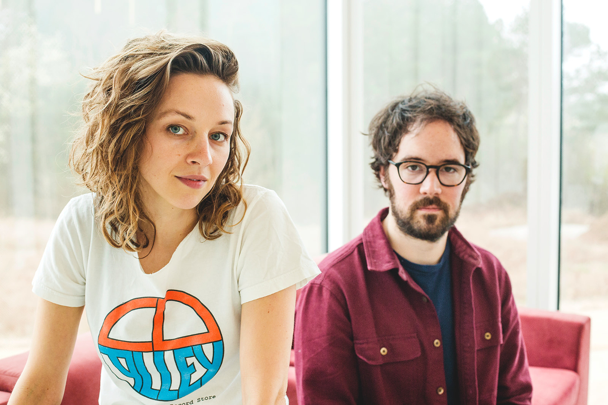 "Mandolin Orange with ""Tides Of A Teardrop"" over in the Netherlands and Belgium this weekend"