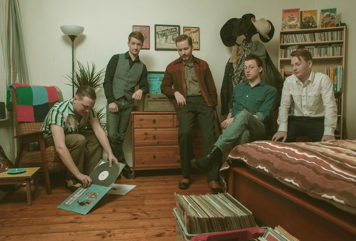 Rob Heron & The Tea Pad Orchestra are over for some festivals and club shows
