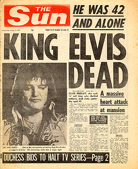 Dead Elvis & His One Man Grave in South America!