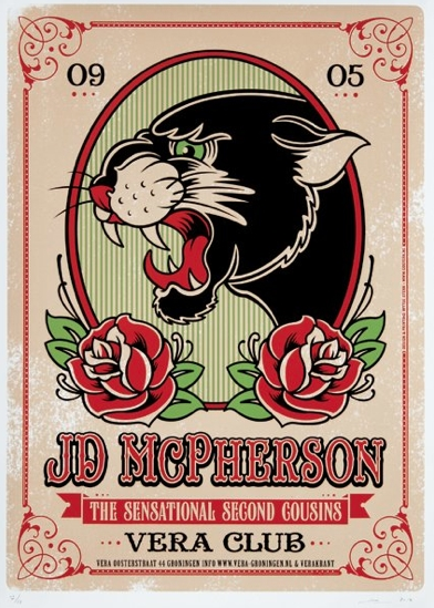 Tourdates and new release JD McPherson