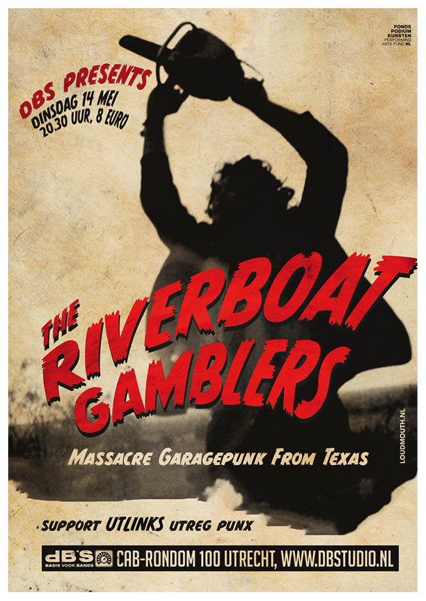 The Riverboat Gamblers do shows in The Netherlands