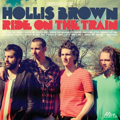 "Hollis Brown takes ""Ride On The Train"" and announce tourdates"