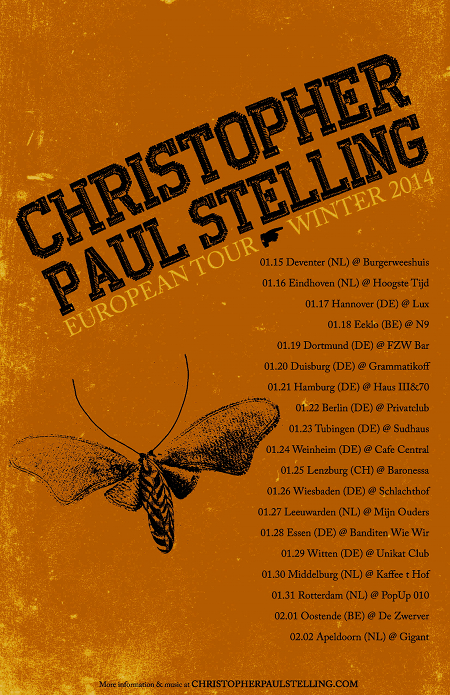 "Christopher Paul Stelling shares ""Free To Go"" and returns in January"