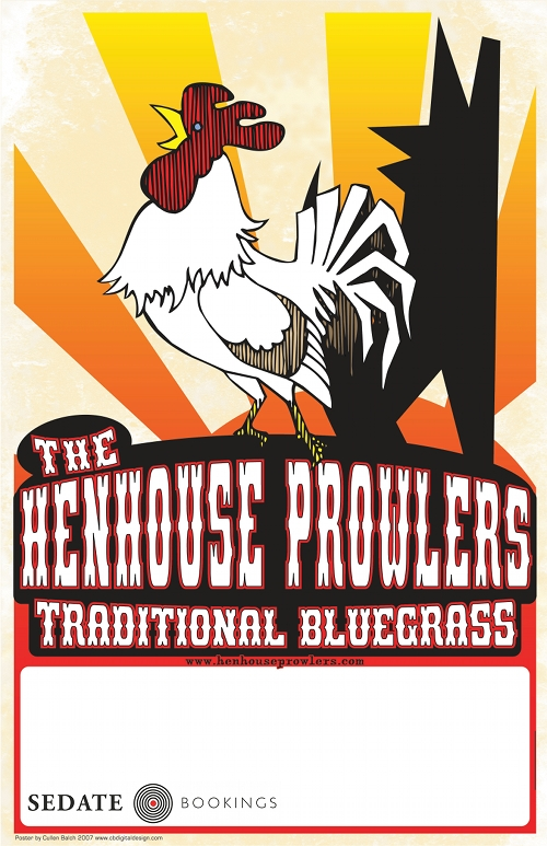 The Henhouse Prowlers tour Europe in April and May