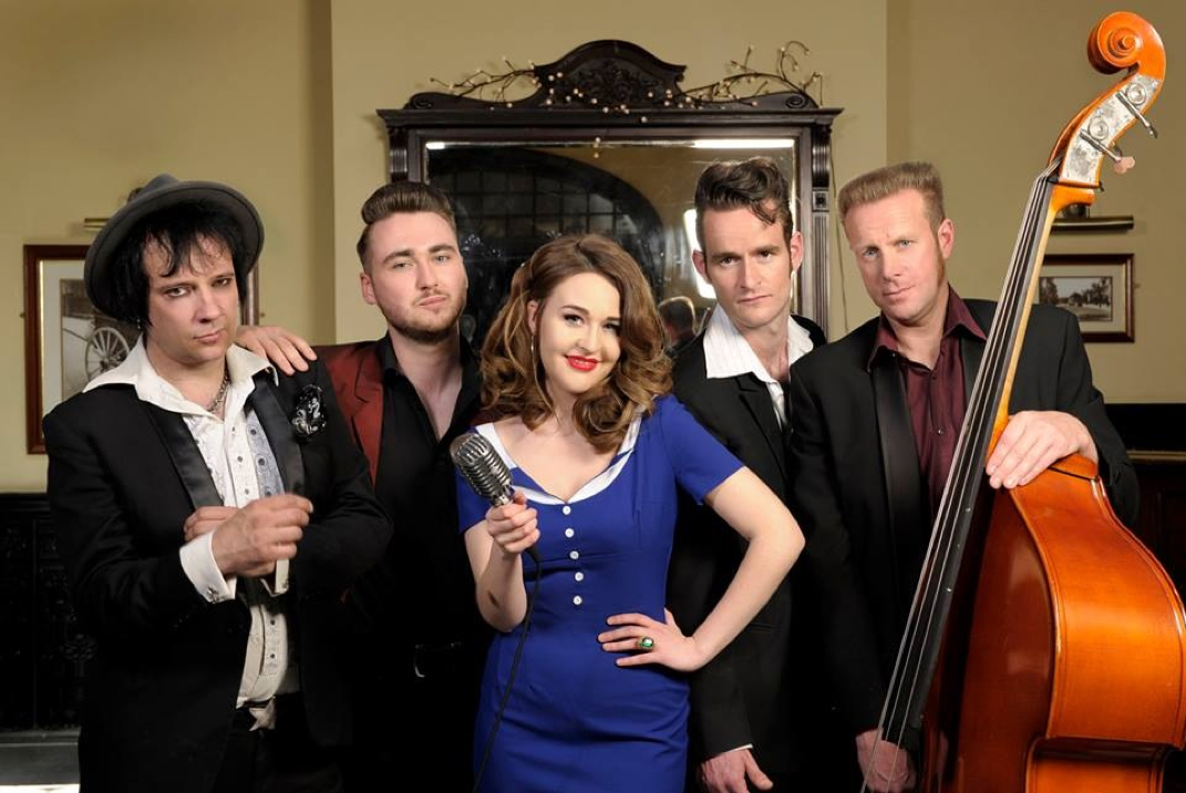 Hannah Rickard & The Relatives for FIVE shows in the Benelux
