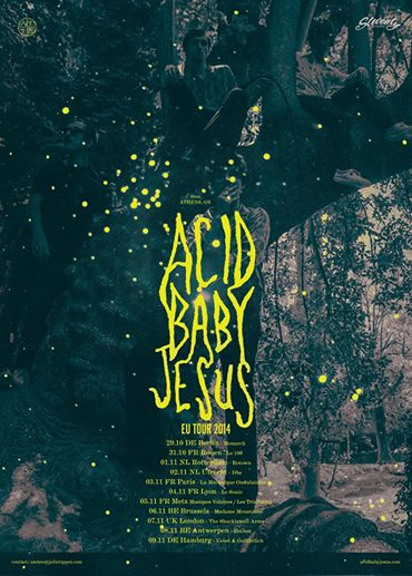 Acid Baby Jesus in The Netherlands TWICE this November