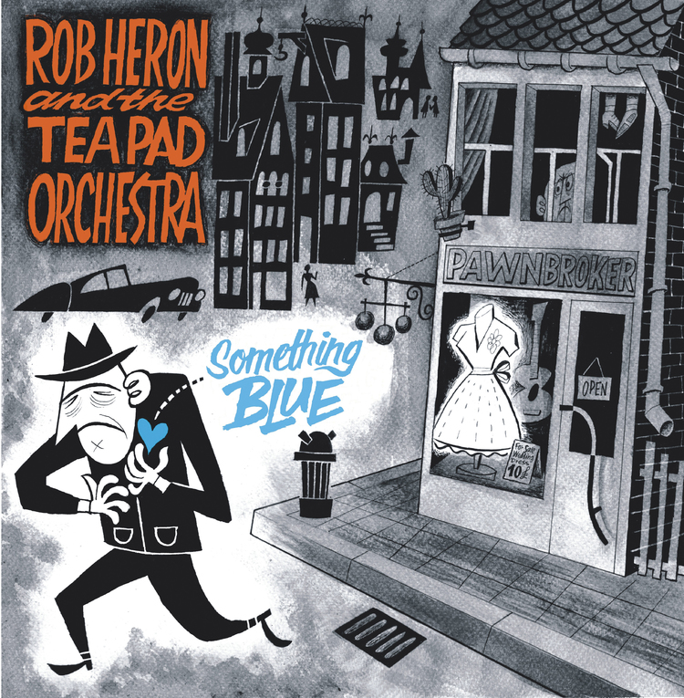Rob Heron & The Tea Pad Orchestra tour across DE, NL and BE this month