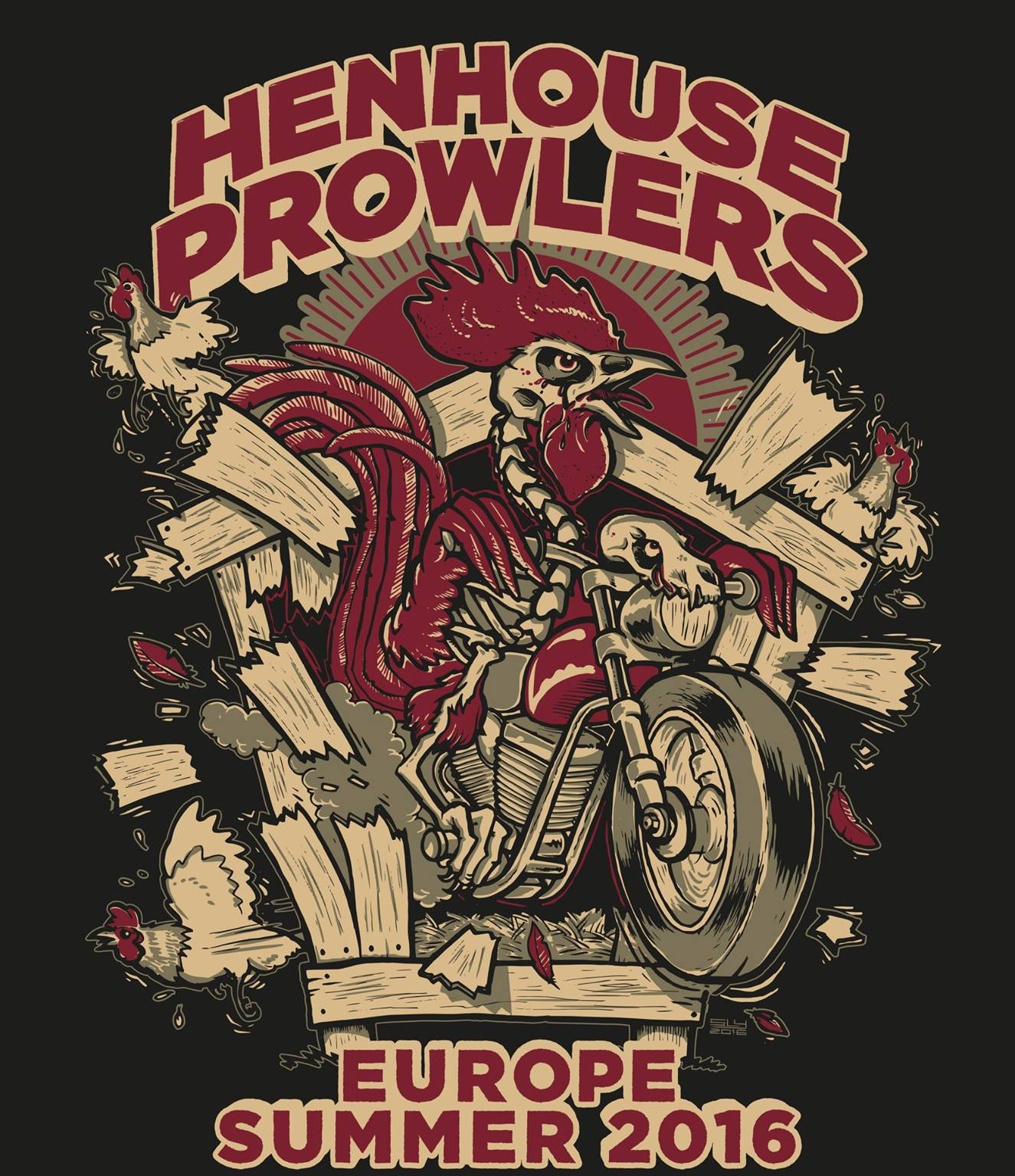 Henhouse Prowlers kick off European tour this weekend