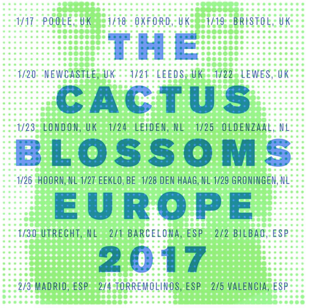 The Cactus Blossoms tour Europe starting next week
